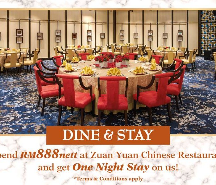 DINE & STAY WITH US