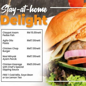 Stay-at-home Delights menu